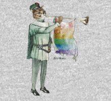 Rainbow Cat One Piece - Long Sleeve