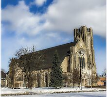Church of St. Mary/St. Paul in Winter II by Kendall McKernon