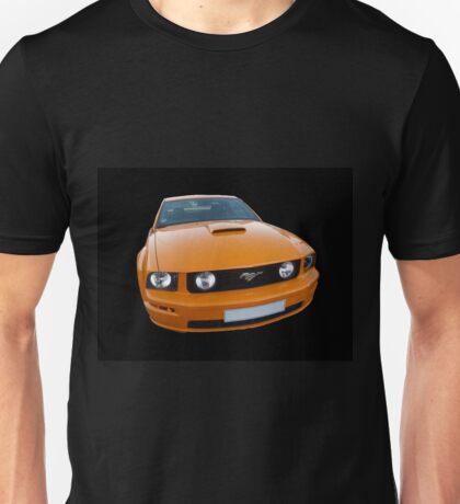 Orange Mustang Unisex T-Shirt
