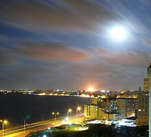 In the moonlight, Havana, Cuba by krista121
