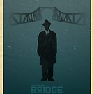 Steven Spelberg's BRIDGE OF SPIES (blue version) by AlainB68