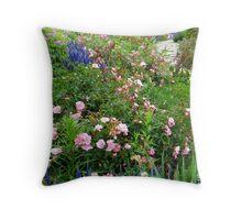 Garden of Summer Glory Throw Pillow