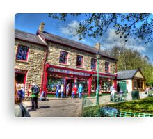 The Old Gwalia Store HDR Canvas Print