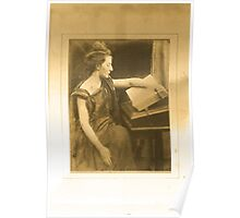 Woman Reading a Book Poster