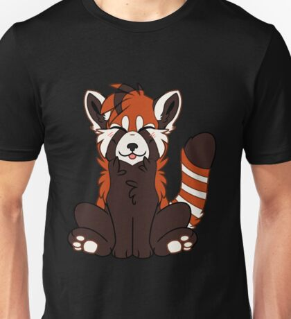 Cute Chibi Red Panda Unisex T-Shirt