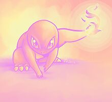 Feisty Charmander by GoodMoeJo