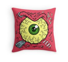 STINK-EYE Throw Pillow