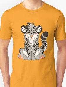 Cute Chibi Snow Leopard T-Shirt