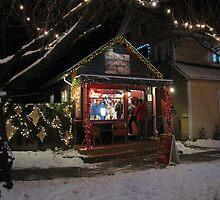 Christmas shopping at a really small shop by Gaetan