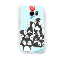 Penguin mountain Samsung Galaxy Case/Skin