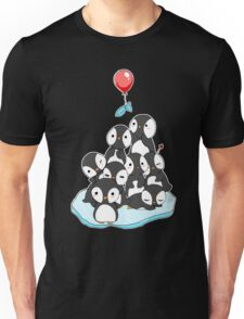 Penguin mountain Unisex T-Shirt
