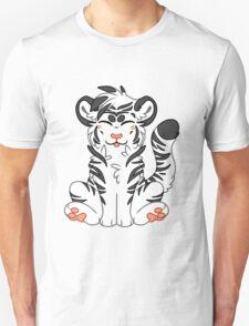 Cute Chibi White Tiger T-Shirt