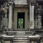 Angkor Wat - Library by Gillian Berry