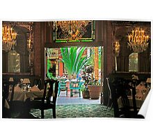 Restaurant With Ambiance Poster