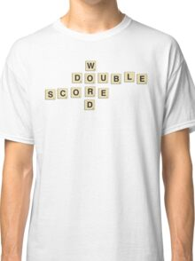 double word score Classic T-Shirt