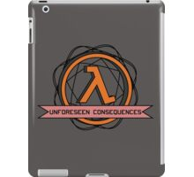 Unforeseen Consequences  iPad Case/Skin
