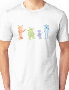 Colourful Bot Squad Unisex T-Shirt