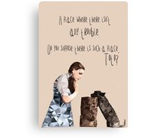 Dorothy and Toto's Place //pastel Canvas Print