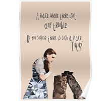 Dorothy and Toto's Place //pastel Poster