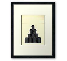 coffeeholic. i Framed Print