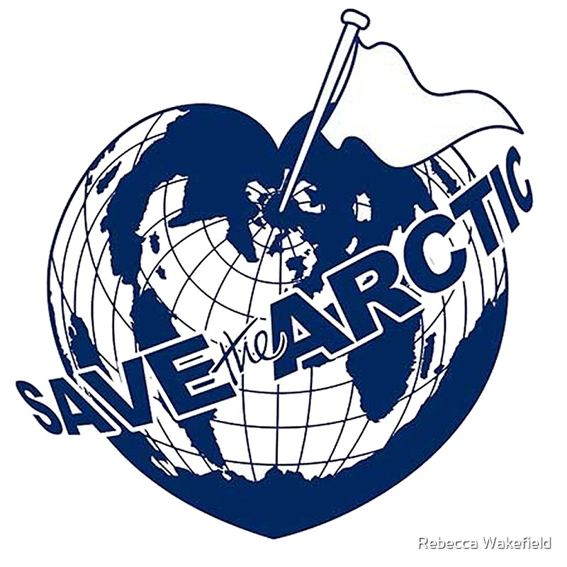 Wall Art Greenpeace : Quot save the arctic greenpeace art prints by rebecca