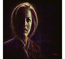 Dana Scully Photographic Print