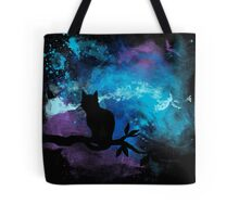 Galaxy cat Tote Bag