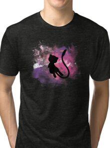 Galaxy Mew - Pokemon Tri-blend T-Shirt