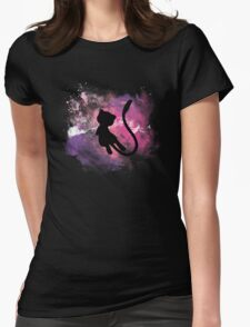 Galaxy Mew - Pokemon Womens Fitted T-Shirt