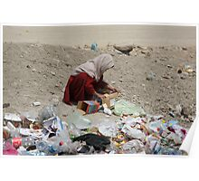 Girl in Afghanistan Poster