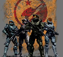 Halo - Blue Team by elitecrinos