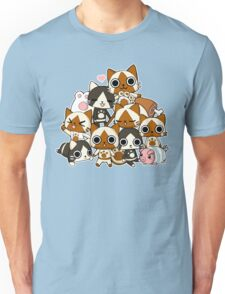 Airou & Merorou Monster Hunter cats Unisex T-Shirt
