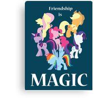 My Little Pony Poster Canvas Print