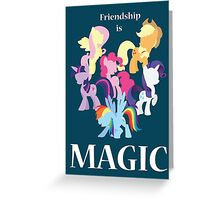 My Little Pony Poster Greeting Card