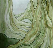Foggy Forest by Rebecca Tripp
