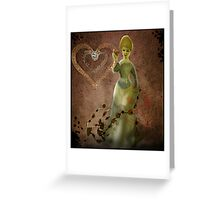 Memories are forever-COLLABORATION WITH ARTIST JD Greeting Card
