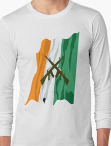 Irish Flag with meaning Long Sleeve T-Shirt