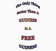 Free Guinness by greg fitzgerald