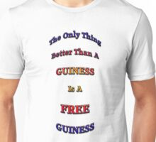Free Guinness Unisex T-Shirt