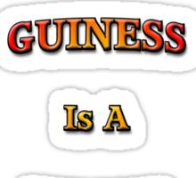 Free Guinness Sticker