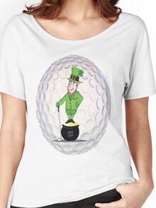 Leprechaun Golfer Women's Relaxed Fit T-Shirt