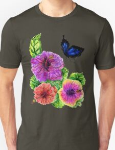 Painted Hibiscus T-Shirt
