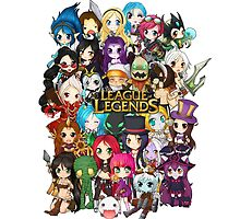 Chibi League of Legends by linkitty