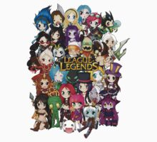 Chibi League of Legends Kids Clothes