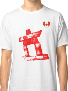 I love Canada rock man -RED- Classic T-Shirt