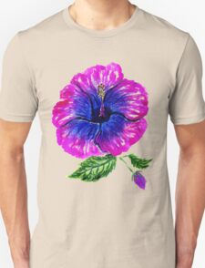 Painted Hibiscus2 Unisex T-Shirt