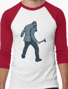Leroy (Blue) Men's Baseball ¾ T-Shirt