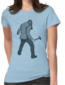 Leroy (Blue) Womens Fitted T-Shirt