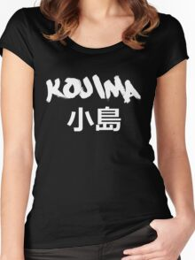 Kojima Black Women's Fitted Scoop T-Shirt