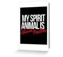 Spirit Animal - Sharon Needles Greeting Card